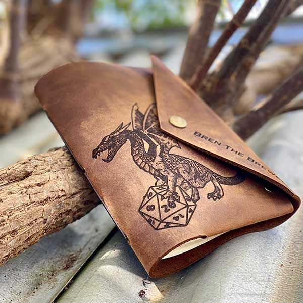 DnD Leather Journal