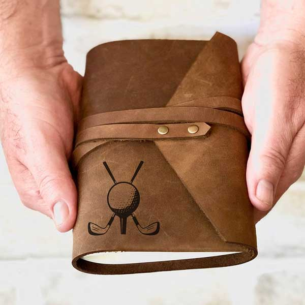 Golf Leather Journal