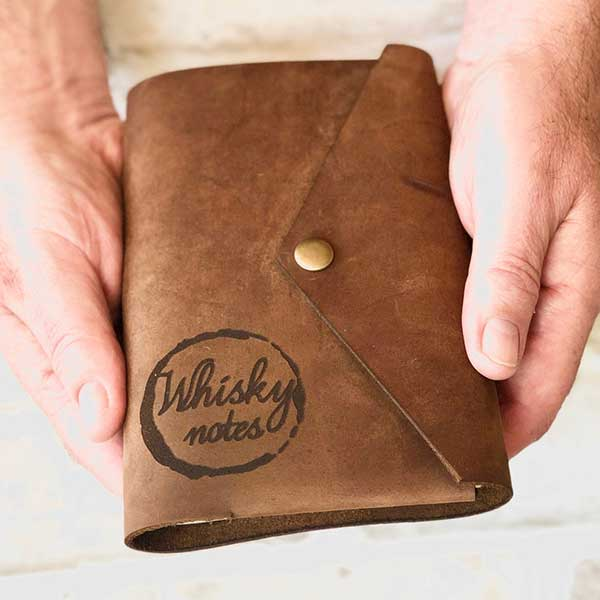 Whiskey Notes Leather Journal