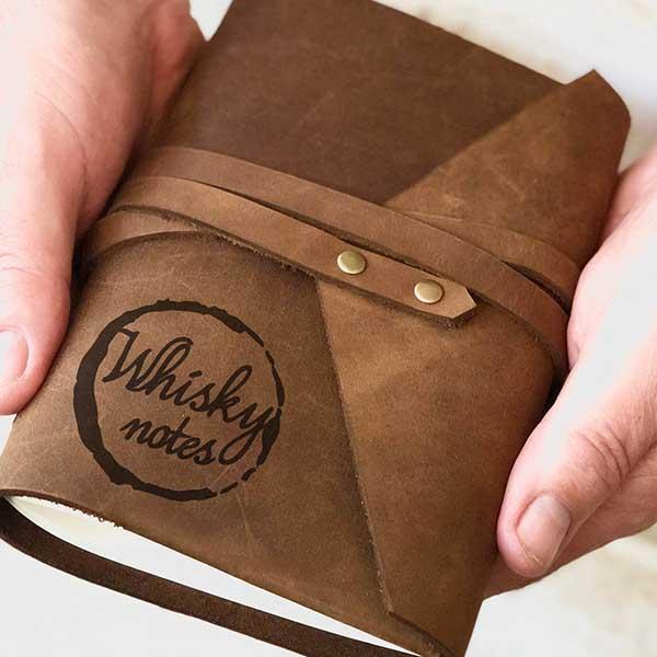 Whiskey Wrap Journal