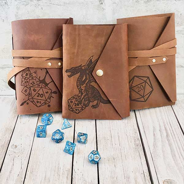DnD Leather Journals