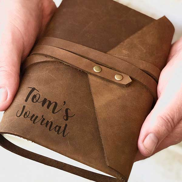 Personalised Leather Journals